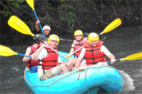 White Water Rafting Class II and III at Balsa River